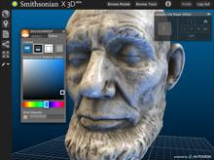 Lincoln Life Mask at SI X 3D