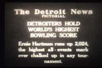 Detroit News Newsreels