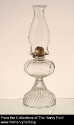 Kerosene Lamp from the Susanna Allen Hunter Collection